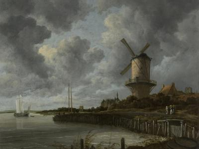The Mill at Wijk Bij Duurstede, C. 1670 by Jacob Isaacksz Van Ruisdael