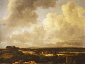 An Extensive Landscape in Summer, 1665-70 by Jacob Isaaksz. Or Isaacksz. Van Ruisdael