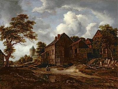 Farmhouses on a High Road, 1658-60