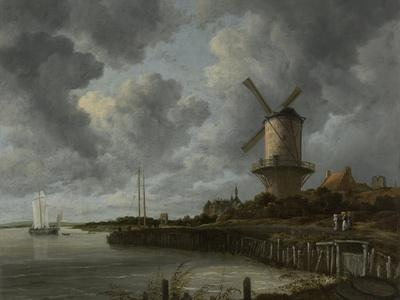 The Windmill at Wijk Duurstede, C.1668-70