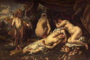 Amor and Psyche by Jacob Jordaens