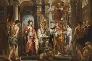 An Oracle (Thetis and Achilles before the Oracle) before 1643 by Jacob Jordaens