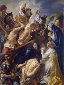 Carrying of the Cross by Jacob Jordaens