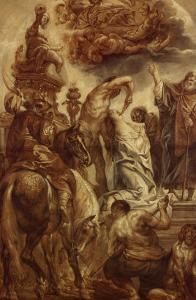 Le martyre de Sainte Apolline by Jacob Jordaens