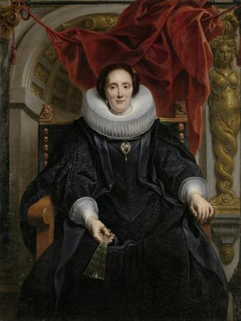 Portrait of Catharina Behaghel, 1635