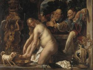 Susanna and the Elders, 1653 by Jacob Jordaens