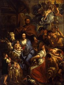 The Adoration of the Shepherds, 1657 by Jacob Jordaens