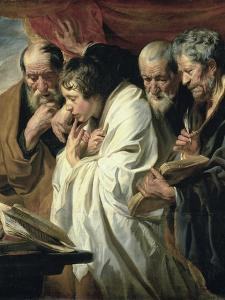 The Four Evangelists by Jacob Jordaens