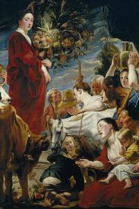 The Offering to Ceres by Jacob Jordaens