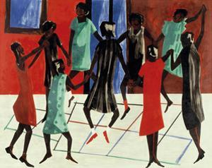 Children at Play, 1947 by Jacob Lawrence