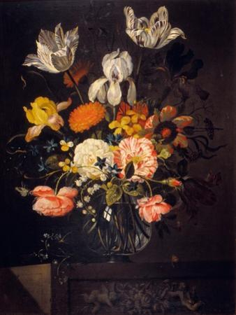 Still-Life with Flowers by Jacob Marrel