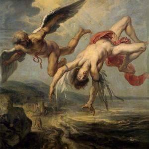 The Fall of Icarus, 1636-1637 by Jacob Peter Gowy