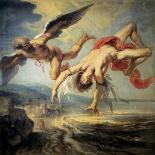 The Fall of Icarus, 1636-1637-Jacob Peter Gowy-Giclee Print