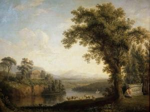 Antique Landscape with the Phaethon's Tomb, 1785 by Jacob Philipp Hackert