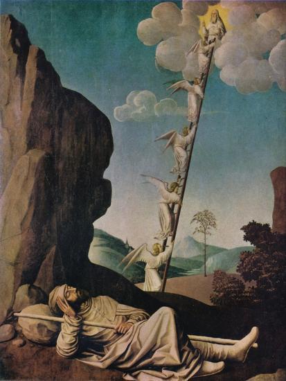 'Jacob's Dream', c1490-Unknown-Giclee Print