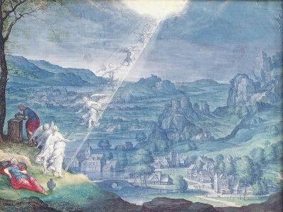 Jacob's Dream-Johann Wilhelm Baur-Giclee Print