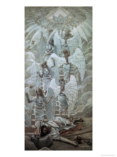 Jacob's Dream-James Tissot-Giclee Print