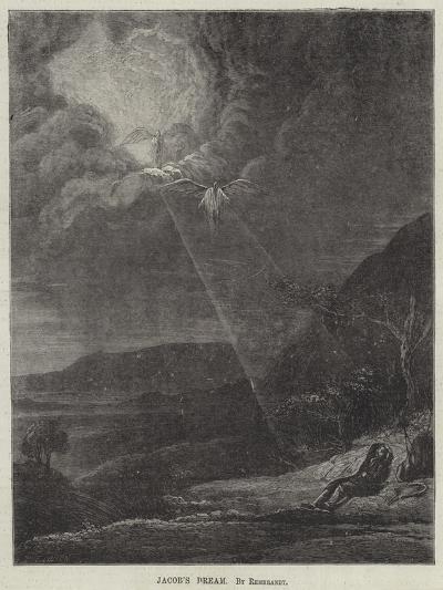 Jacob's Dream-Rembrandt van Rijn-Giclee Print