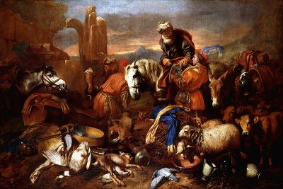 Jacob's Journey into Egypt-Giovanni Benedetto Castiglione-Giclee Print