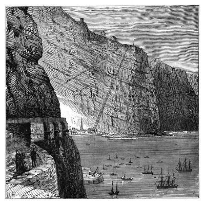 Jacob's Ladder Leading to Munden's Battery, Jamestown, Saint Helena, C1890--Giclee Print