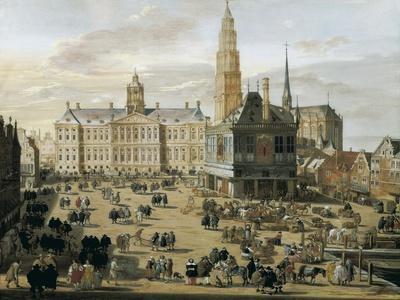 Damm Square in Amsterdam