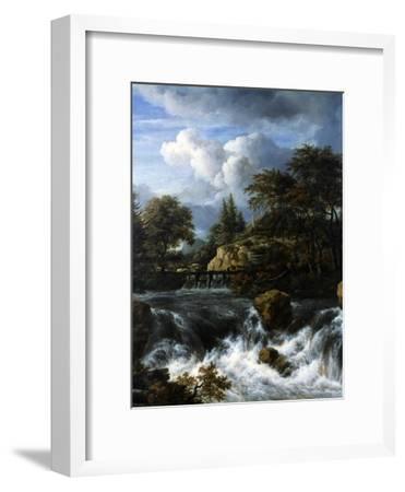 A Waterfall in a Rocky Landscape, 1660-70