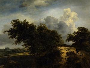 The Bush, Ca. 1650-82 by Jacob van Ruisdael