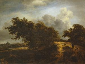 The Bush, or Path Among the Haarlem Dunes, C.1649 by Jacob van Ruisdael