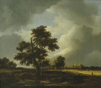Landscape with Shepherds and Peasants