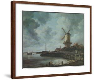 Windmill Near Wijk by Jacob Van Ruysdael