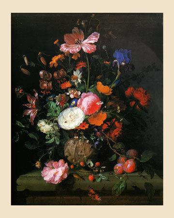 Bouquet de Fleurs dans un Vase de Pierre, 1677