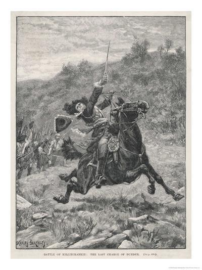 Jacobite Rising at Killiecrankie the Jacobites Defeat Mackay's Royalist Army-Stanley Berkeley-Giclee Print