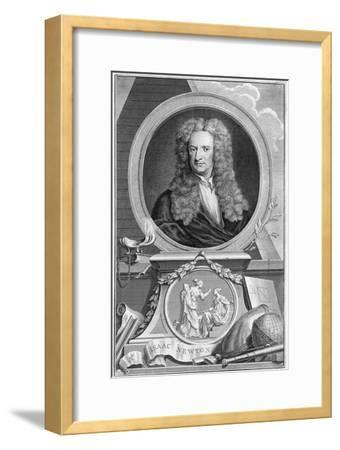 Isaac Newton (1642-172), English Mathematician, Astronomer and Physicist, 1738