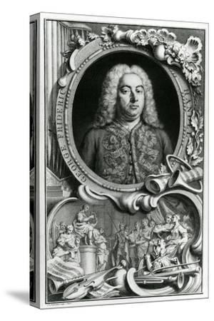 Portrait of George Frederick Handel, 1768