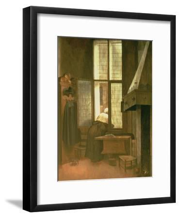 Woman at a Window, 1654