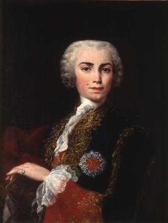 Portrait of the Singer Farinelli (Carlo Brosch) (1705-178)