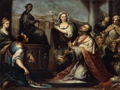 The Idolatry of King Solomon, C1739