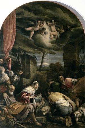 Adoration of Shepherds by Jacopo Bassano