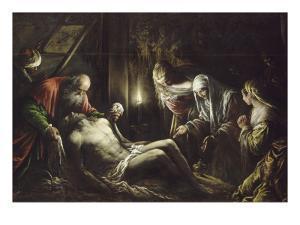 Le Christ descendu de la Croix by Jacopo Bassano