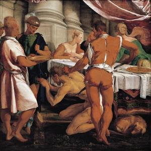 Martyrdom of John Baptist, Circa 1548 by Jacopo Bassano