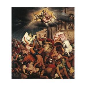Martyrdom of Saint Catherine by Jacopo Bassano