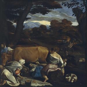 Pastoral Scene, 1560 by Jacopo Bassano