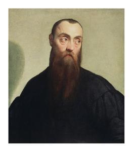Portrait of a Bearded Man by Jacopo Bassano