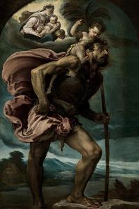 Saint Christopher, 1559 by Jacopo Bassano