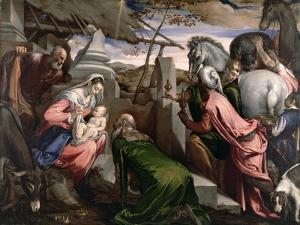 The Adoration of the Magi, C.1568 by Jacopo Bassano