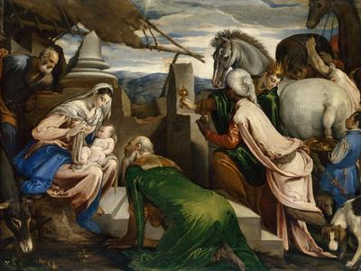 The Adoration of the Magi, Ca 1555