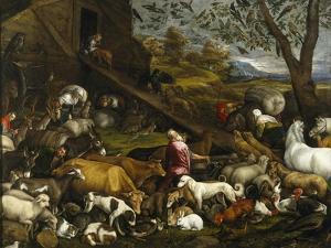The Animals Board Noah's Ark by Jacopo Bassano