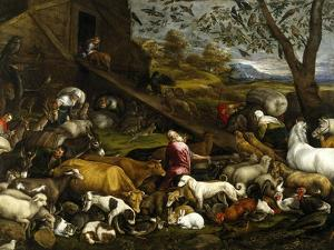 The Animals Entering the Arc, Ca. 1570 by Jacopo Bassano