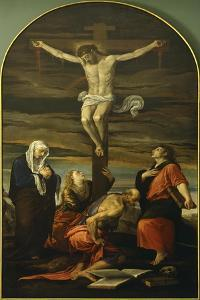 The Crucifixion by Jacopo Bassano