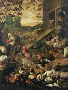 The Entrance of the Animals into the Ark by Jacopo Bassano
